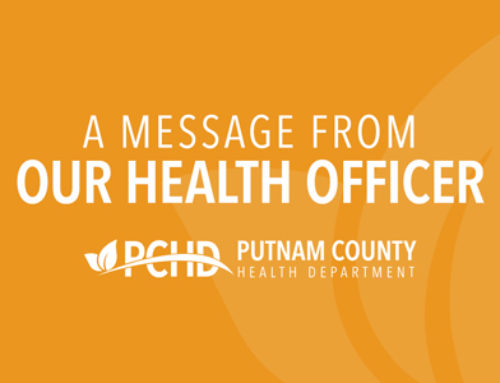A Message From Our Health Officer